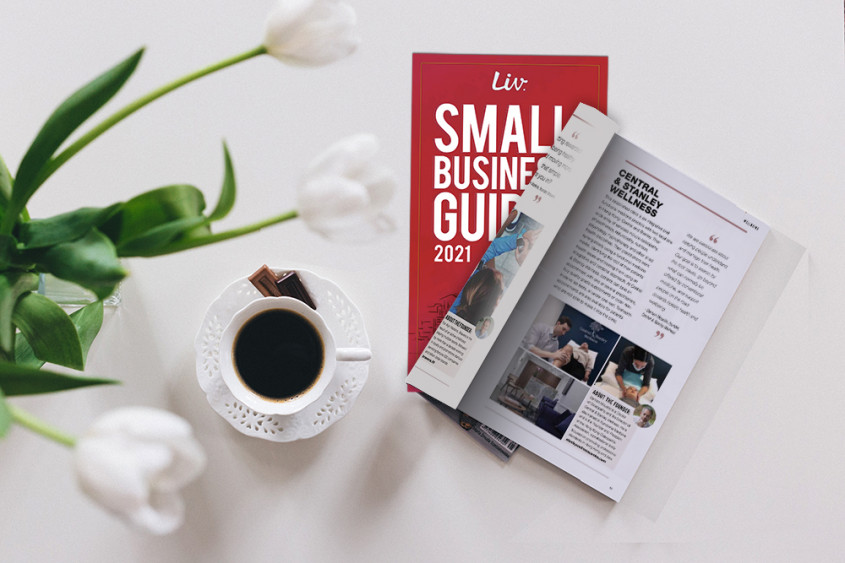 We're featured in the 2021 SMALL BUSINESS GUIDE!