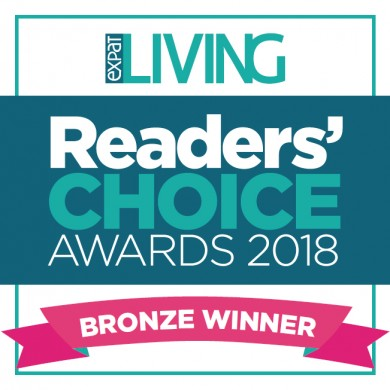 SWC, awarded by the readers of Expat Living HK
