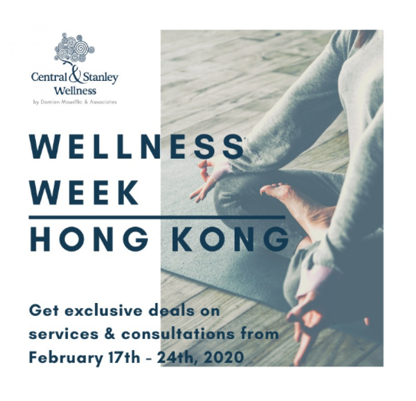 Try Some of Our Services FREE this Wellness Week HK (17-24 FEB)